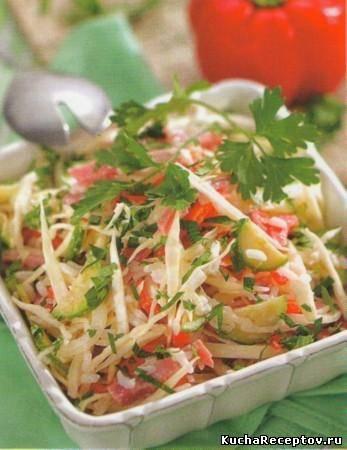 салат  осенний