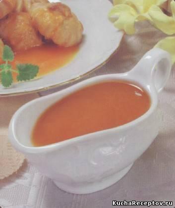 Соус абрикосовый