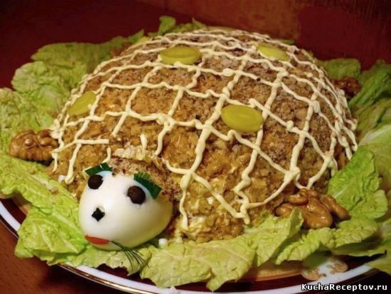 салат  тортила