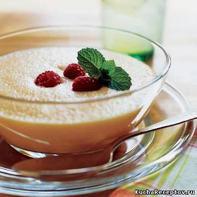 Суп-пюре из абрикосов или персиков