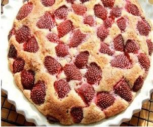 Французский клубничный пирог, Сладкая выпечка