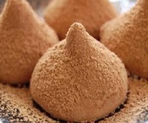 Насыщенные шоколадные трюфели с перцем чили