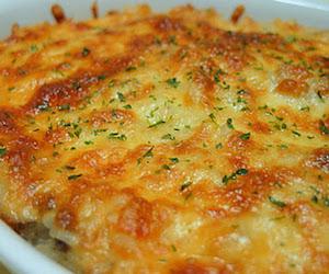Запеченный рис с сыром и чили, Несладкая выпечка