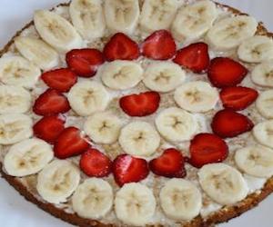 Быстрый клубнично-банановый пирог, Сладкая выпечка