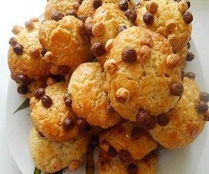 Печенье песочное Ёжики, Сладкая выпечка