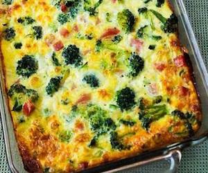 Рецепты картофельной запеканки с брокколи