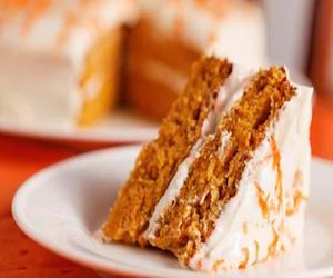 Морковный пирог с бананами и специями, Сладкая выпечка