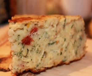 Сырный пирог с красным перцем, Несладкая выпечка