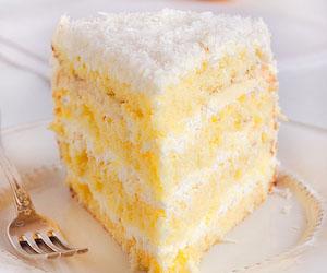 Торт с лимонным курдом и суфле, Торты