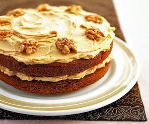 Кофейно-ореховый пирог, Сладкая выпечка