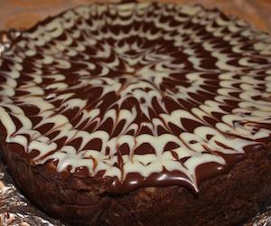 Кофейно-шоколадный чизкейк, Торты