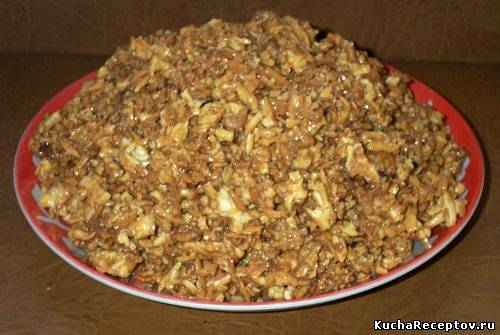 торт без выпечки муравьиная куча