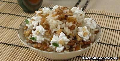 рис с медом и сливками