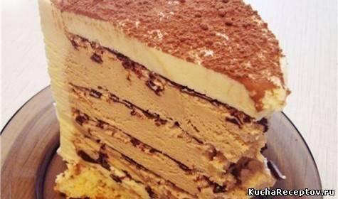 """Торт """"Кофе с шоколадом"""""""