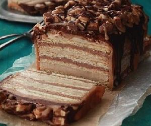 торт сникерс рецепт с