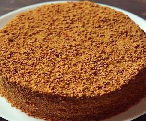 торт рыжик рецепт со сгущенкой с фото