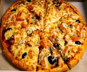Для сайта Аура позитива: пица